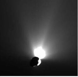 абота кометного (Темпля 1) вулкана