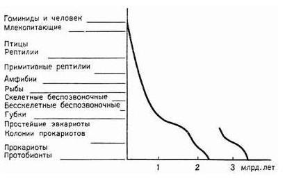Схема двукратного зарождения жизни на Земле. По С.А.Захарову