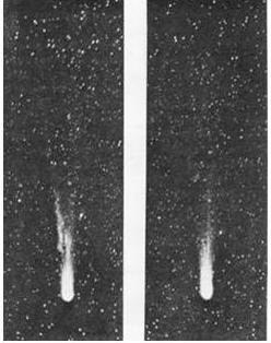 комета Галлея «сбросила» осколки своей разрушившейся твердой оболочки